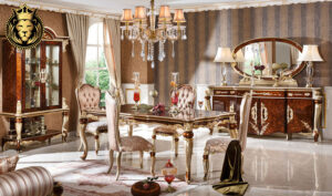 Bengaluru Classic Style Royal Dining Room Furniture