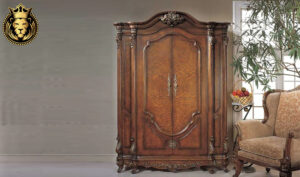 Darjeeling Antique Style Hand Carved Wardrobe