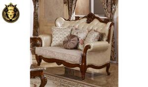 Delhi Classical Style Teak Wood Sofa Set