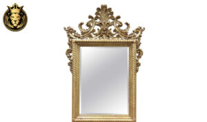 European Style Carved Unfinished Mirror Frame
