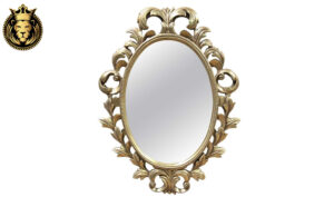 European Style champagne Gold Leaf Mirror Frame