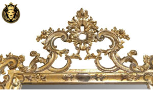 French Style Intricate Carved Mirror Frame