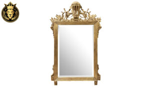 Gorgeous Italian Style Gold Leaf Mirror Frame