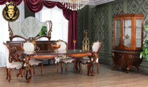 Hyderabad Neo Classical Style Royal Dining Room furniture