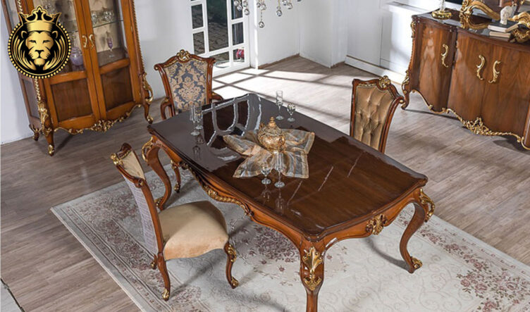Jaipur Classic Style Hand Carved Dining Room Furniture