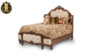 Mysuru Antique Style Hand Carved Bed