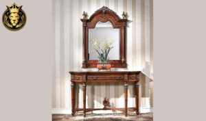 Nappolen French Style Carved Dressing Unit