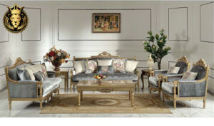 Navi Mumbai Antique Golden Sofa Set