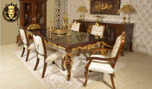 New Delhi Neo Classical Style Dining Room furniture