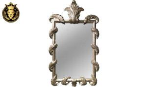 Victorian Style Leaf Carved Mirror Frame