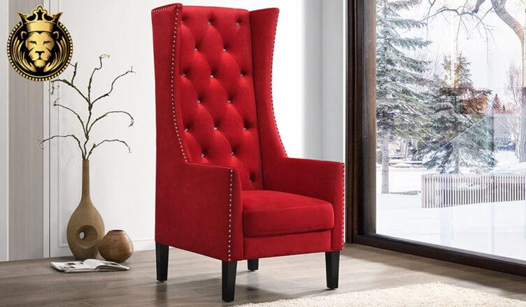 Ambeika Modern Luxury Style High Back Chair