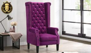 Ammanya Modern Luxury Style High Back Chairs