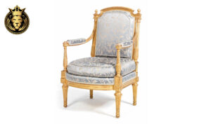 Beautiful Louis XVI Style Handcrafted Accent chair