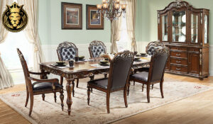Laasiya Antique Style Royal Dining Room furniture Collection