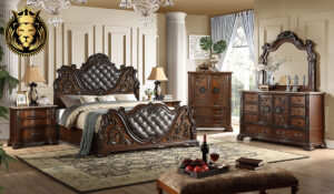 Malvika Royal Antique Style Bedroom Set Collection