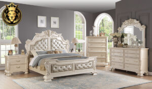 Ojasvini Indian classic Style Bedroom Set collection