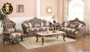 Surabhi Antique Bronze Finish Sofa Set collection