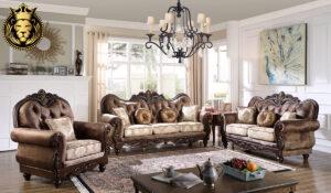 Zara Royal Antique Style Hand Carved Living Room Furniture