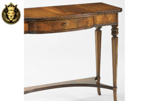 Aardrha French Style 3 Drawer Console Table
