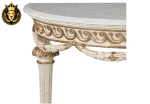 Ahilya Classic Style Hand Carved Console Table