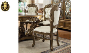 Boise European Style Hand Carved Dining Set