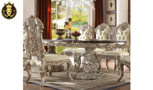 Fontana European Style Hand Carved Dining Set