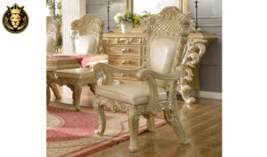 Fremont European Style Hand Carved Dining Set