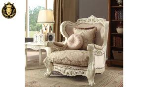 Fresno Classic Style Hand Carving Sofa Set