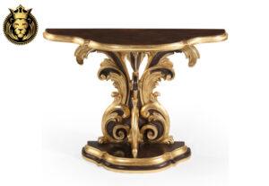 Jyotsana European Style Carved Console Table