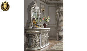 Laredo Classic Style Carving Royal Bedroom Set
