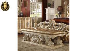 Lexington Maharaja Style Carved Bedroom Set