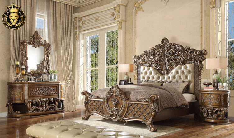 Lincoln European Style Carving Royal Bedroom Furniture