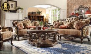 Louisville European Antique Style Royal Sofa Set