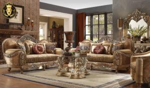 Nashville Maharaja Style Carving Royal Sofa Set