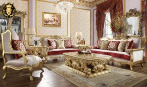 Phoenix European Style Hand Carved Sofa Set