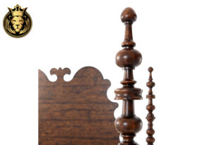 Shuchi Gorgeous British Colonial Style Four Poster Bed