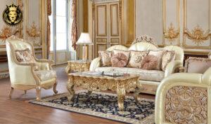 Tulsa Luxury Style Carving Royal Sofa Set