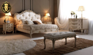 Athens Classic Style Carving Bedroom Furniture