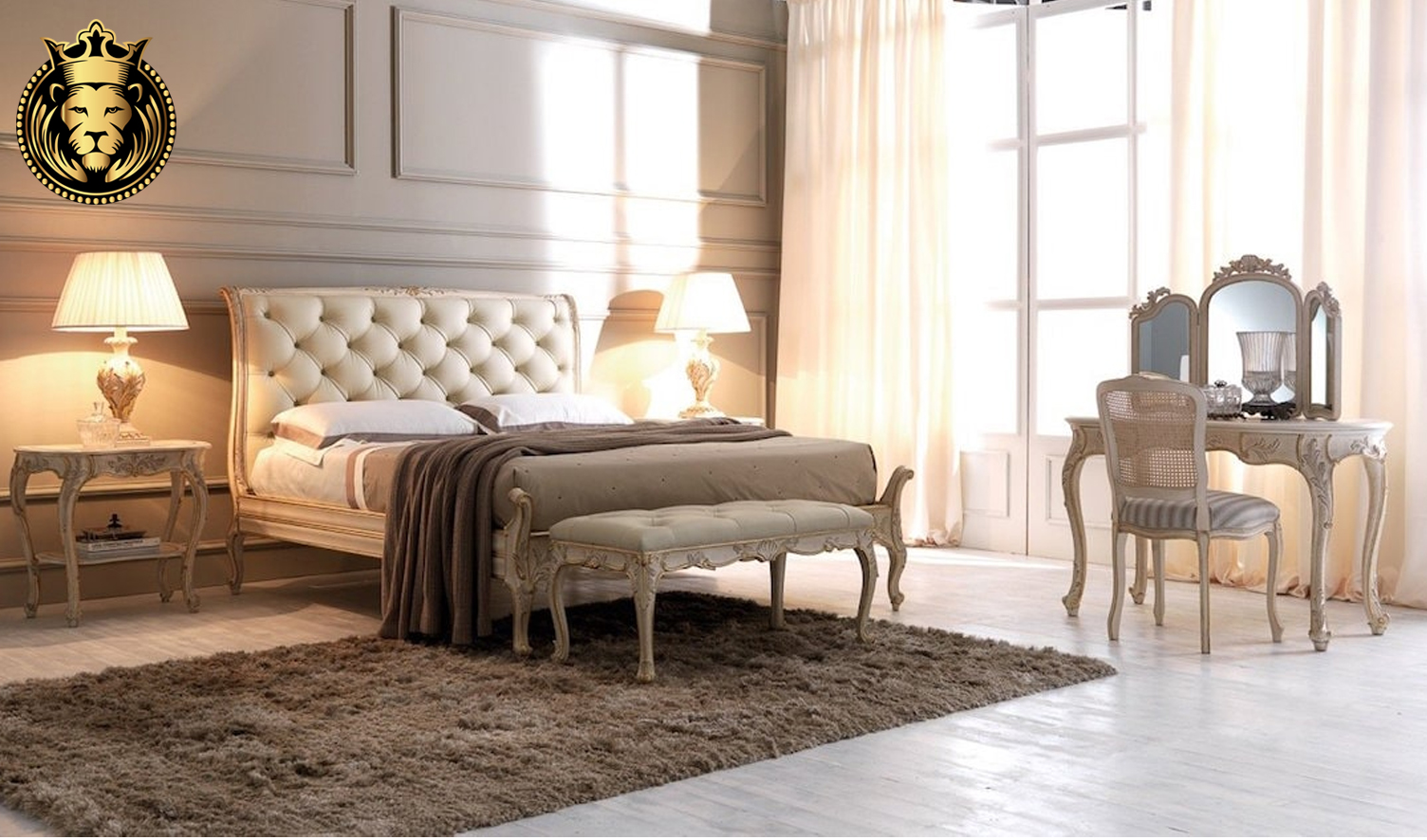 Clara Classic Style Carving Bedroom furniture