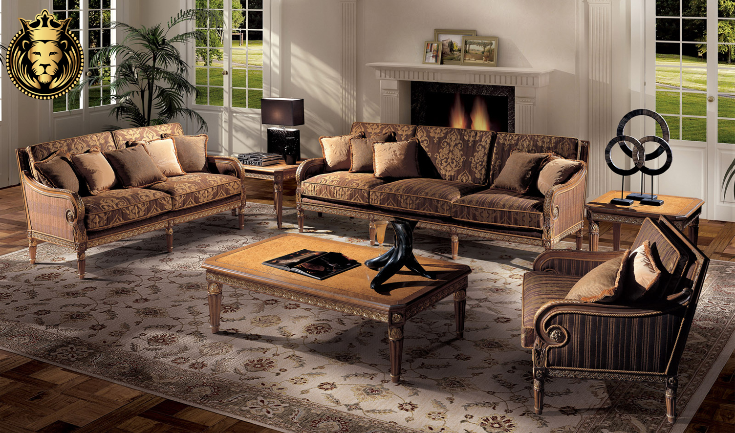 Concord French Style Sofa Set