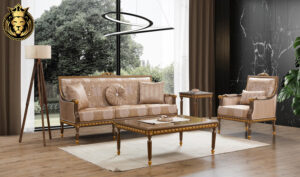 Miramar French Style Carved Sofa Set (1)