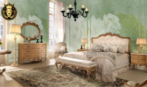 Rialto Classic Style Hand Carved Bedroom Set (7)