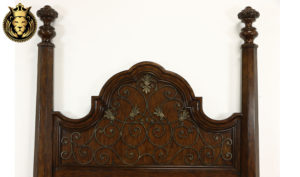 Armagh Antique Style Hand Carved Bed
