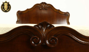 Belfast Antique Style Hand Carved Bed