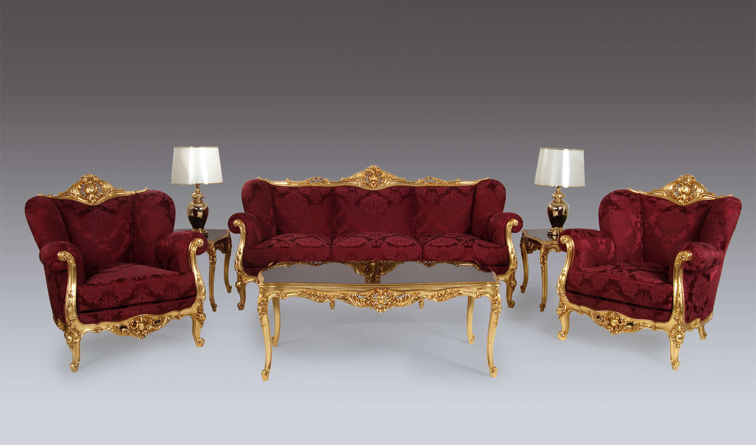 Bengaluru Classic Style French Carving Sofa Set