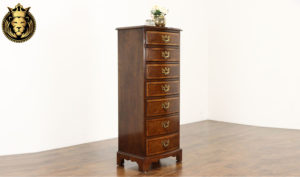 Brighton Antique Style Hand Carved Chest of Drawers