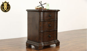 Cardiff Antique Style Hand Crafted Nightstand