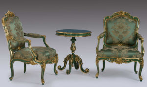 Chandigarh Classic Style French Carving Sofa Set