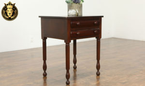 Chelmsford Antique Style;e Hand Carved Nightstand