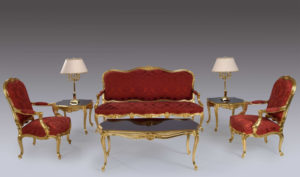 Chennai Classic Style French Carving Sofa Set